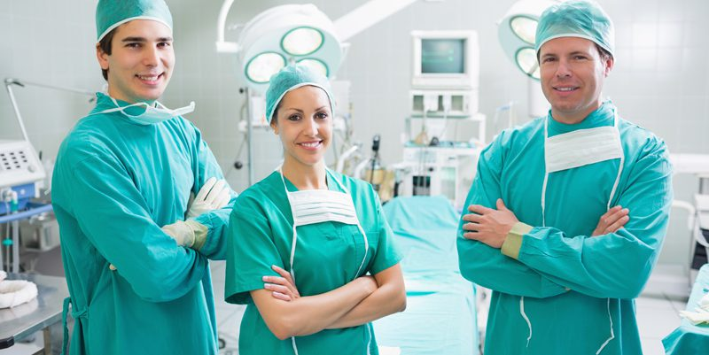 The Three Musketeers Surgical Team